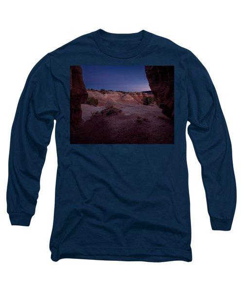 The Window In Desert Long Sleeve T-Shirt
