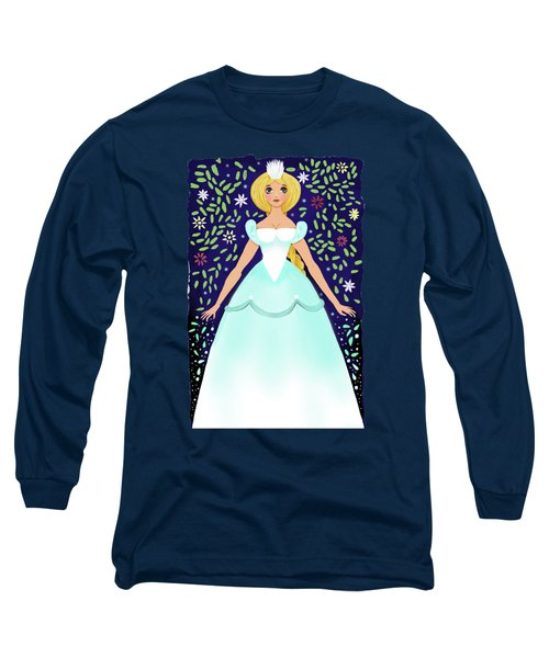 The Winter Fairy Brings The First Frost  Long Sleeve T-Shirt