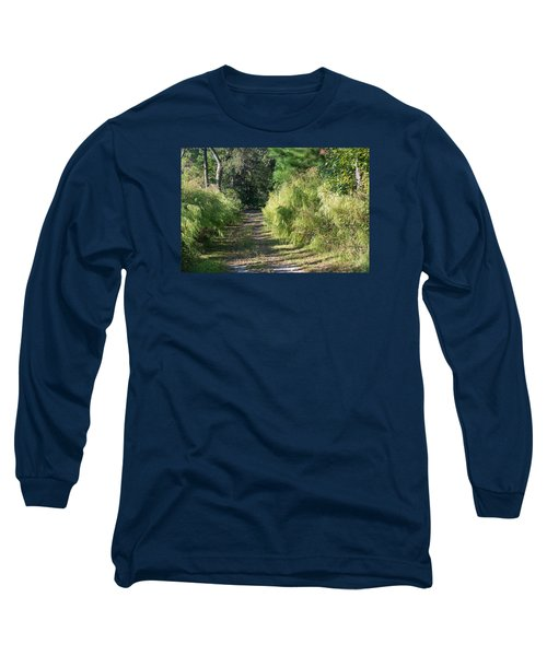 The Yellow Trail Long Sleeve T-Shirt by Kenneth Albin