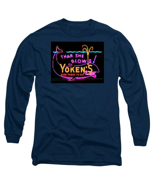 The Yoken's Sign 001 Long Sleeve T-Shirt