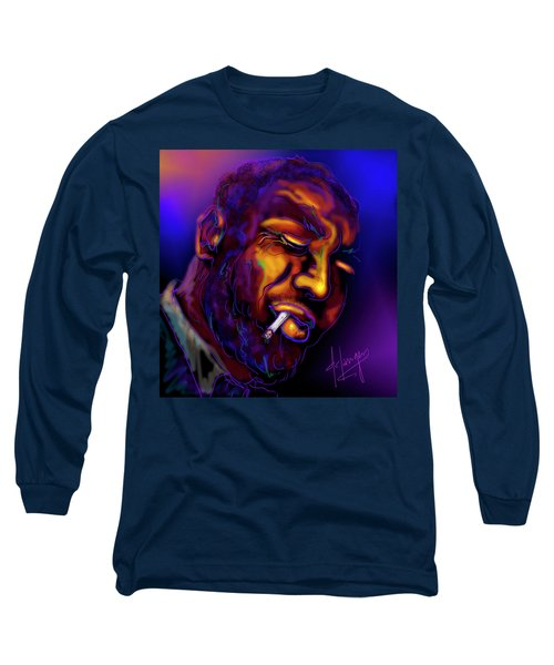 Thelonious My Old Friend Long Sleeve T-Shirt by DC Langer