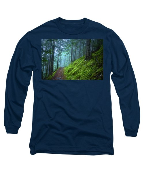 Long Sleeve T-Shirt featuring the photograph There Is Light In This Forest by Tara Turner