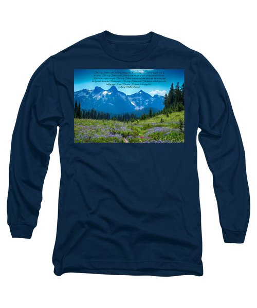 This Is My Fathers World 3 Long Sleeve T-Shirt