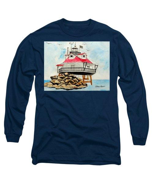 Thomas Point Lighthouse Long Sleeve T-Shirt