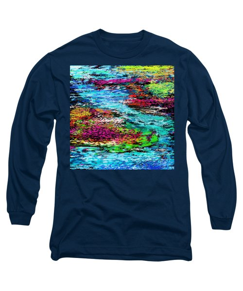 Thought Upon A Stream Long Sleeve T-Shirt