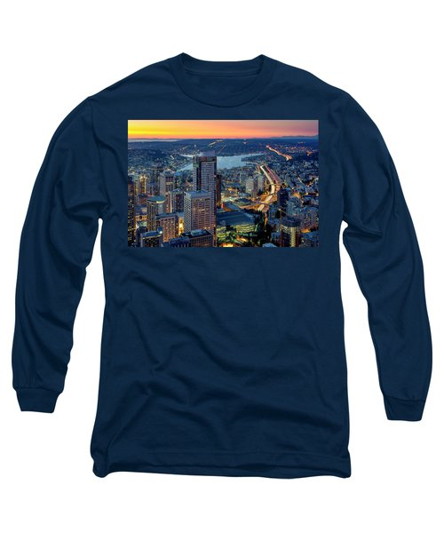 Threads Of Life Long Sleeve T-Shirt by Ryan Manuel