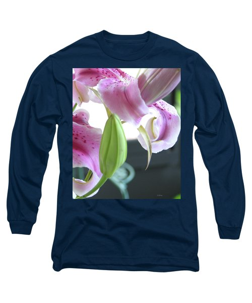 Tiger Lily Bud Long Sleeve T-Shirt