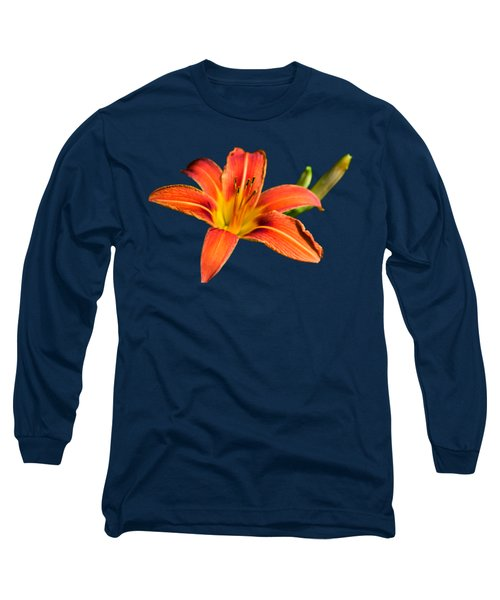 Tiger Lily Long Sleeve T-Shirt by Christina Rollo