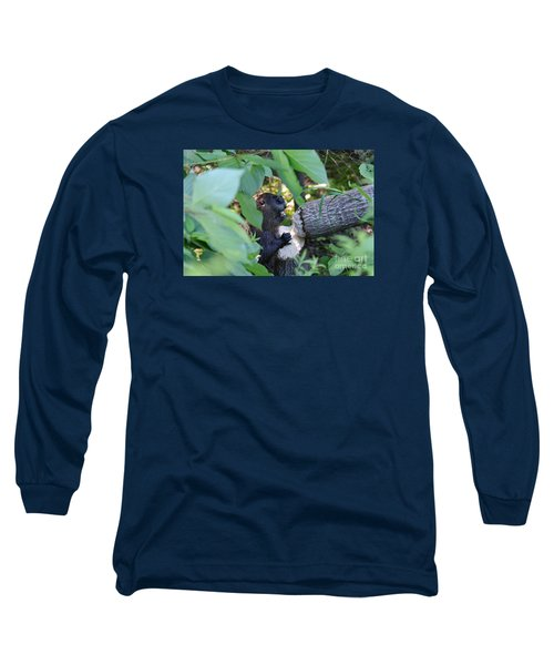 Timberrrrr Long Sleeve T-Shirt by Sandra Updyke