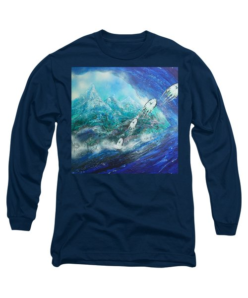 The Escape Of Time Long Sleeve T-Shirt