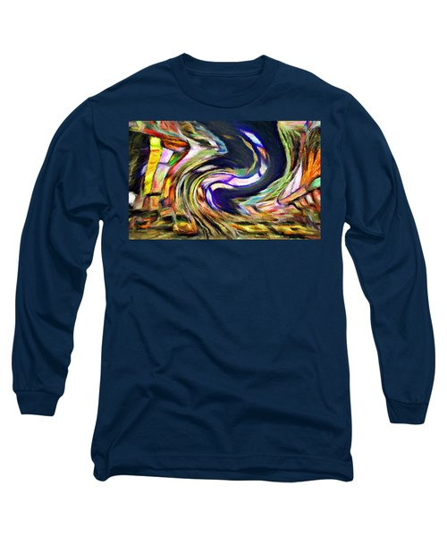 Times Square Swirl Long Sleeve T-Shirt