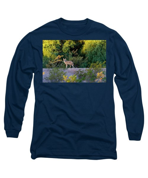 Today's Coyote Long Sleeve T-Shirt
