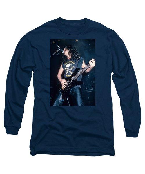 Tom Araya Of Slayer Long Sleeve T-Shirt