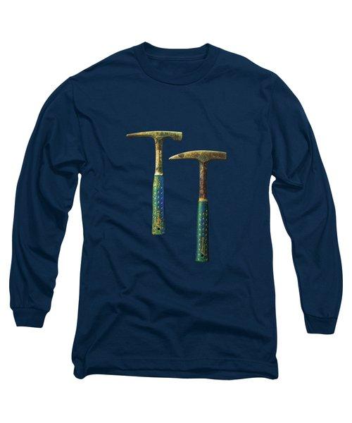 Tools On Wood 65 Long Sleeve T-Shirt