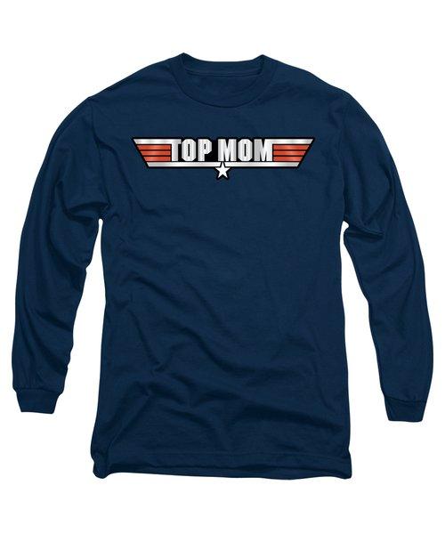 Top Mom Callsign Long Sleeve T-Shirt