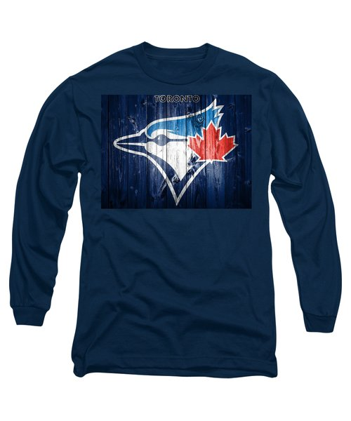 Toronto Blue Jays Barn Door Long Sleeve T-Shirt