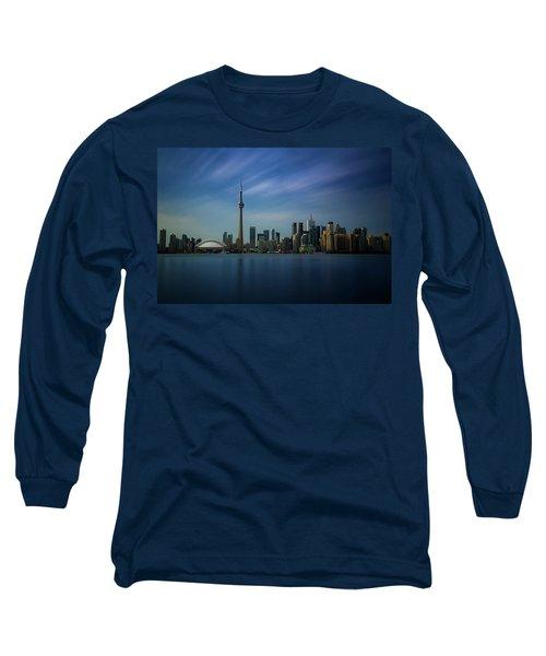 Toronto Cityscape Long Sleeve T-Shirt