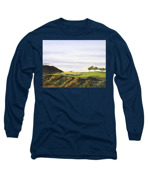 Torrey Pines South Golf Course Long Sleeve T-Shirt by Bill Holkham
