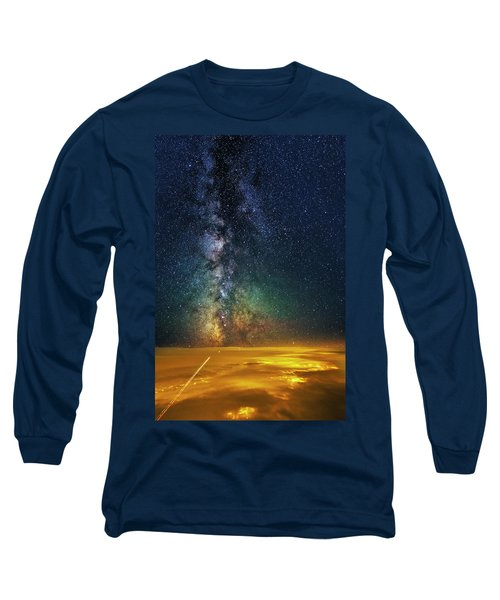 Towards The Core Long Sleeve T-Shirt