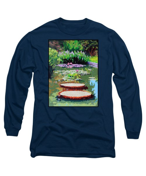 Tower Grove Park Long Sleeve T-Shirt by John Lautermilch