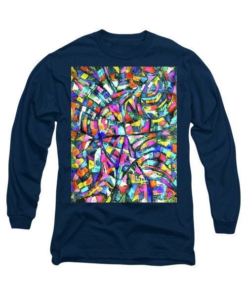 Town Aerial 1 Long Sleeve T-Shirt