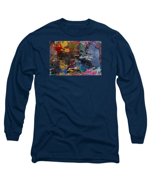 Tranquil Escape-1 Long Sleeve T-Shirt by Alika Kumar