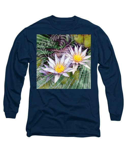 Tranquilessence Long Sleeve T-Shirt by Christopher Beikmann