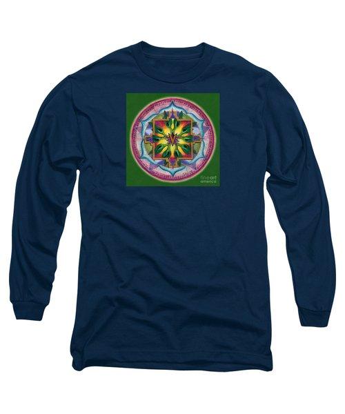 Transformation Mandala Long Sleeve T-Shirt