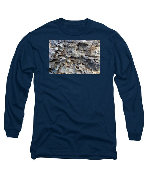 Long Sleeve T-Shirt featuring the photograph Tree Bark 1 by Jean Bernard Roussilhe