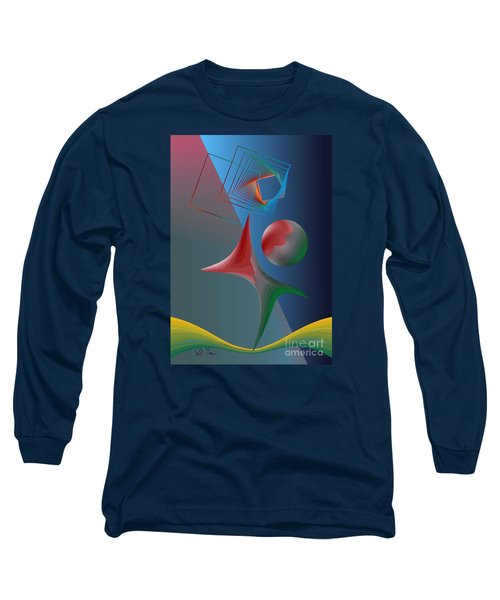 Trick Long Sleeve T-Shirt by Leo Symon