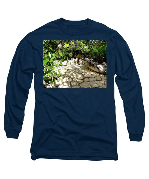 Long Sleeve T-Shirt featuring the photograph Tropical Hiding Spot by Francesca Mackenney