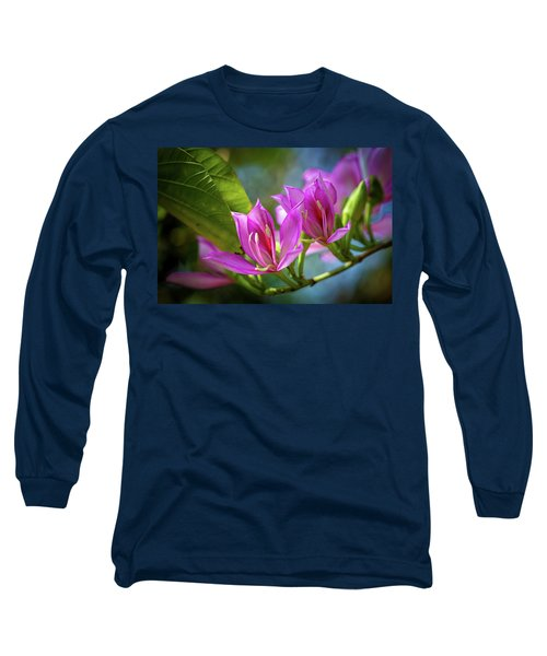 Tropical Line Dance Long Sleeve T-Shirt