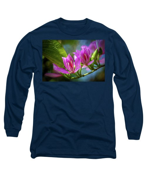 Tropical Line Dance Long Sleeve T-Shirt