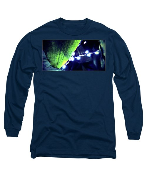 Long Sleeve T-Shirt featuring the digital art Tropical Night by Mindy Newman