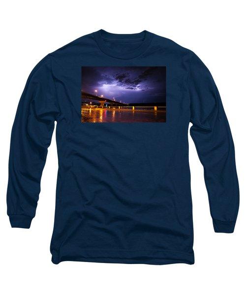 Troubled Skies Long Sleeve T-Shirt by Joe Scott