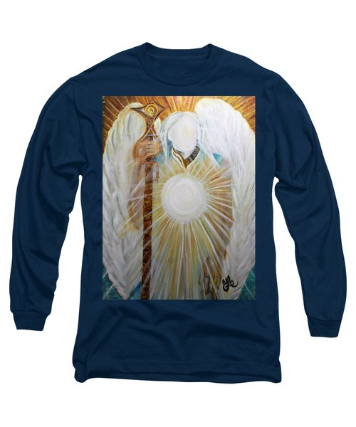 Trust - Michaelarchangel Series Long Sleeve T-Shirt