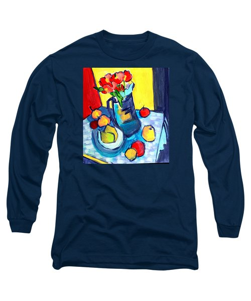 Tulip Still Life Long Sleeve T-Shirt