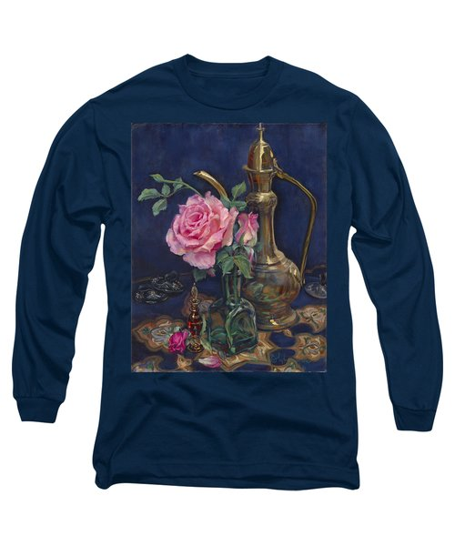Turkish Rose Long Sleeve T-Shirt
