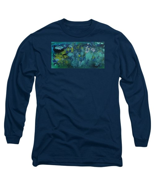 Turquoise Blue Long Sleeve T-Shirt