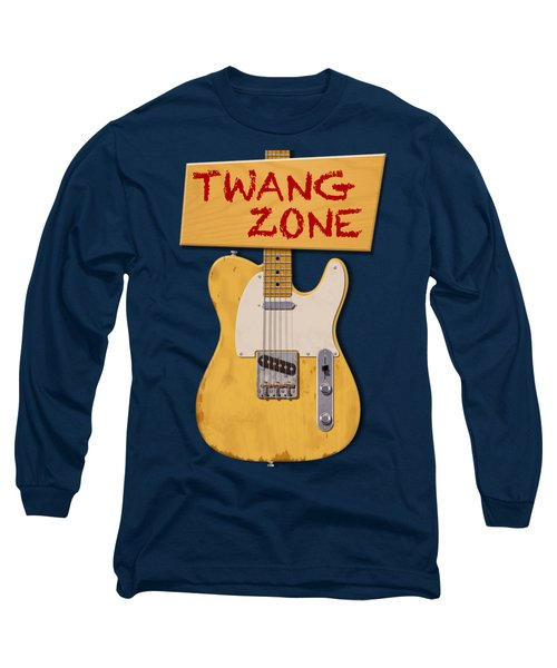 Twang Zone T-shirt Long Sleeve T-Shirt