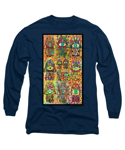 Twelve Hamsas Long Sleeve T-Shirt