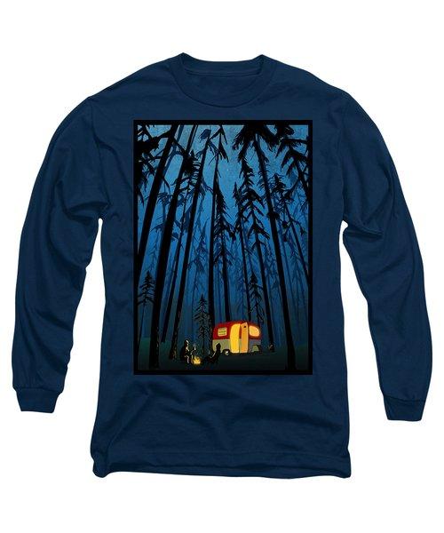 Twilight Camping Long Sleeve T-Shirt