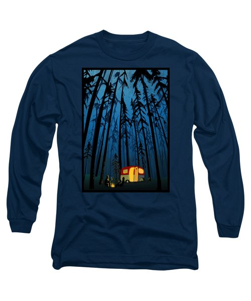 Twilight Camping Long Sleeve T-Shirt