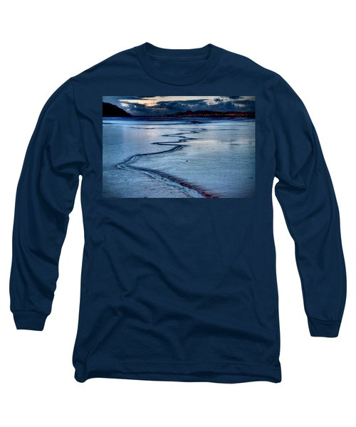 Twilight, Conwy Estuary Long Sleeve T-Shirt