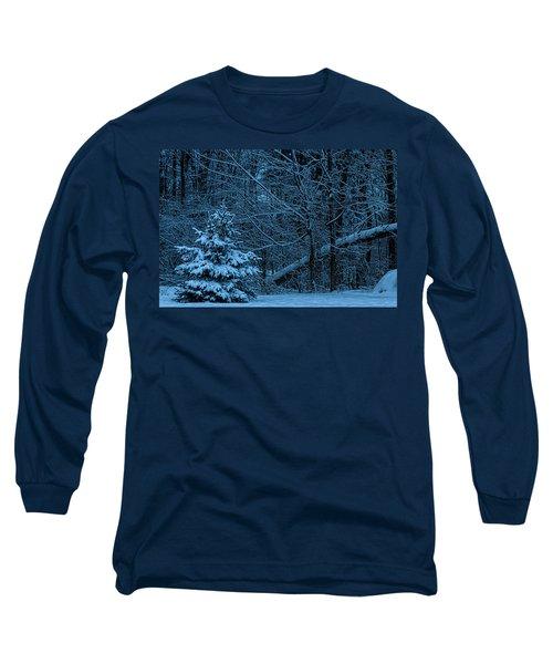 Twilight Snow Long Sleeve T-Shirt by Trey Foerster