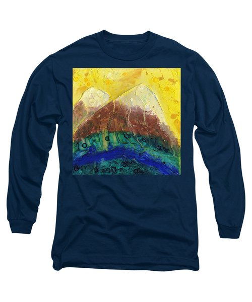 Twin Peaks I Long Sleeve T-Shirt by Phil Strang