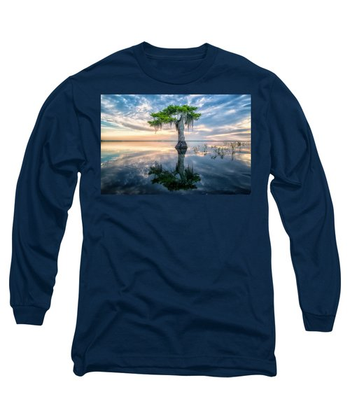 Twisted Cypress Mirror Long Sleeve T-Shirt