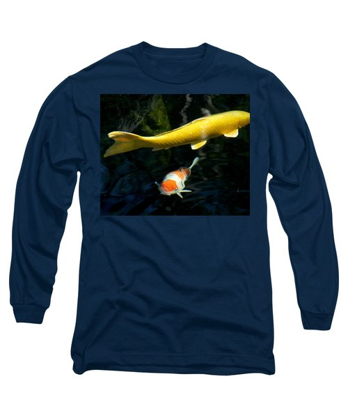 Long Sleeve T-Shirt featuring the photograph Two Fish by Christopher Woods
