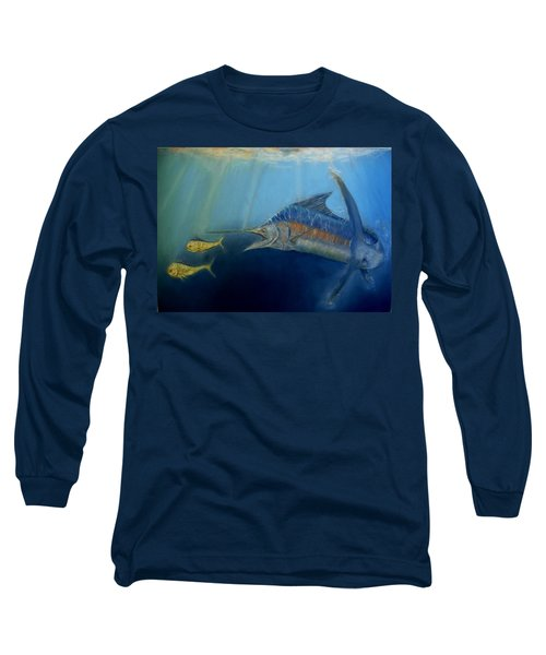 Two For Lunch Long Sleeve T-Shirt by Ceci Watson