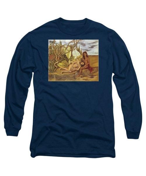 Two Nudes In The Forest Long Sleeve T-Shirt